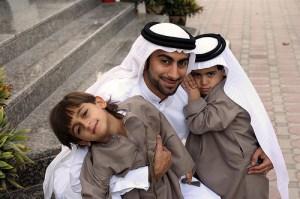 Muslim family man