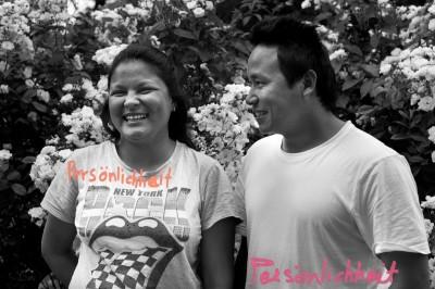 Ramita Tamang und Sujan Thapa
