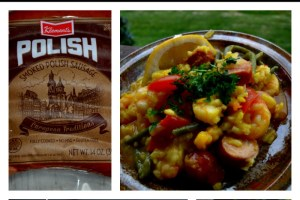 Kid-Friendly Paella with Klement's Sausage