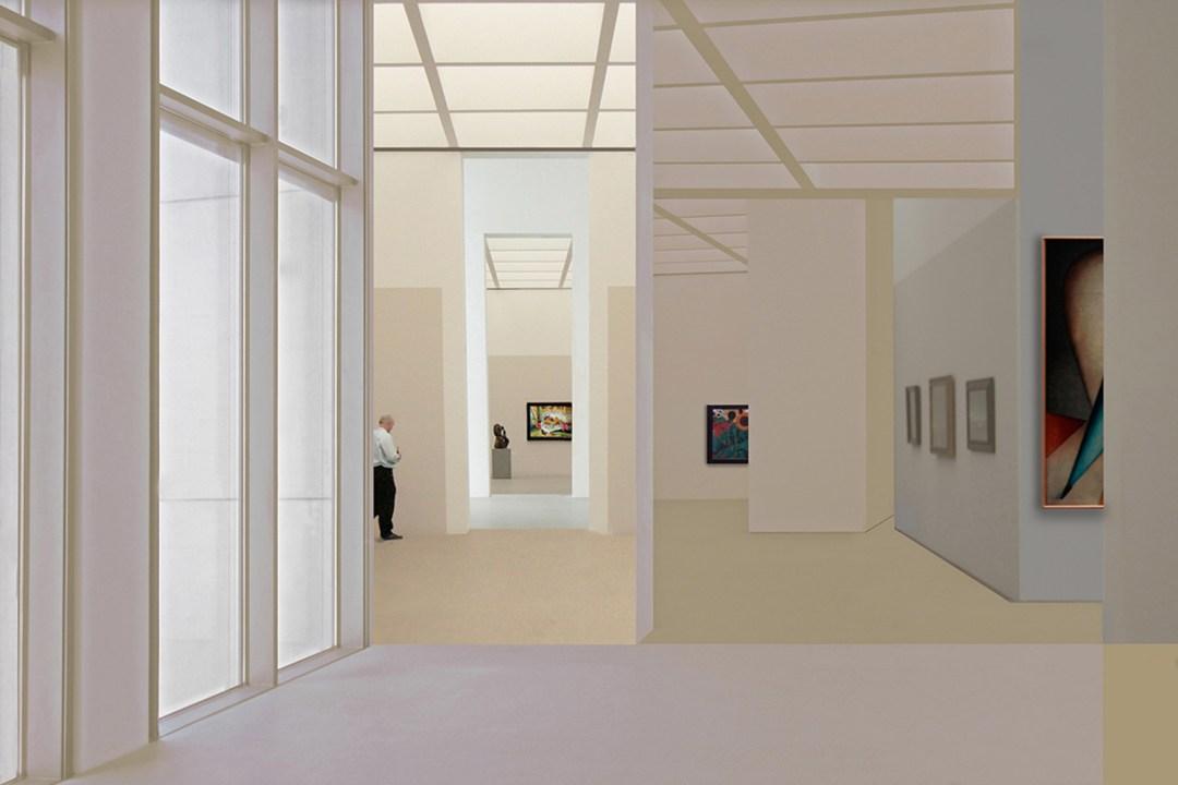 Wolfgang Ahrens: Im Museum I, 2009