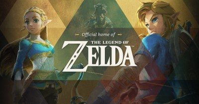 The official home for The Legend of Zelda - Home