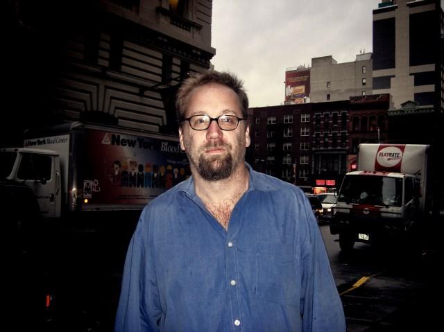 Eric Etheridge in Flatiron, Manhattan