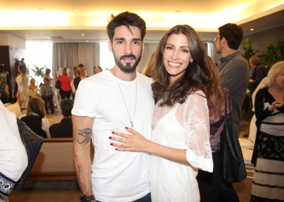 Lucas Franco e Marina Rigueira