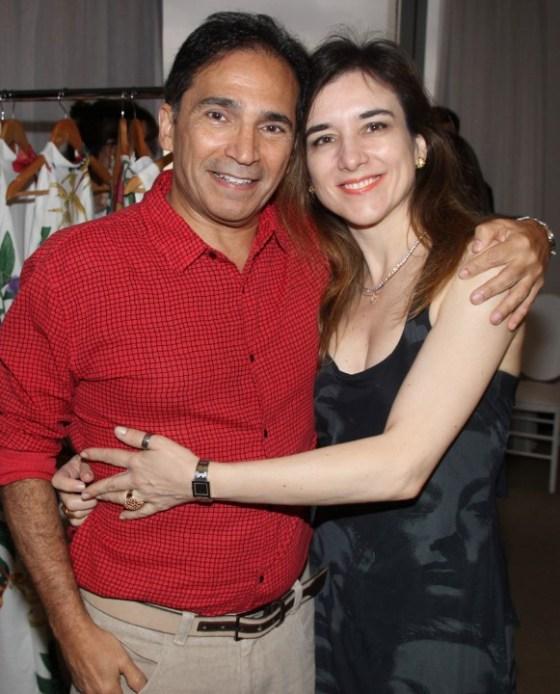 Luiz Arias e Leliene Rodrigues