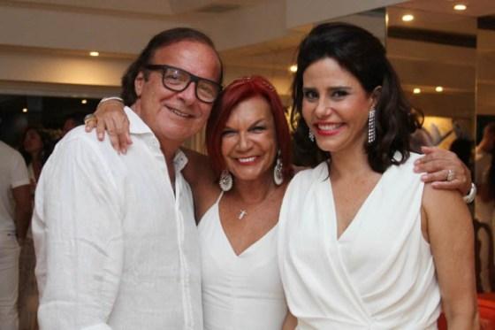 Dudu Gomes e Carmem Dalessio e Narcisa Tamborindeguy