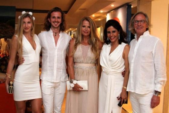 Aurelia Cincikaite, Manfredi Fiorillo e Luisa Fiorillo e Narcisa Tamborindeguy e Paulo Fiorillo
