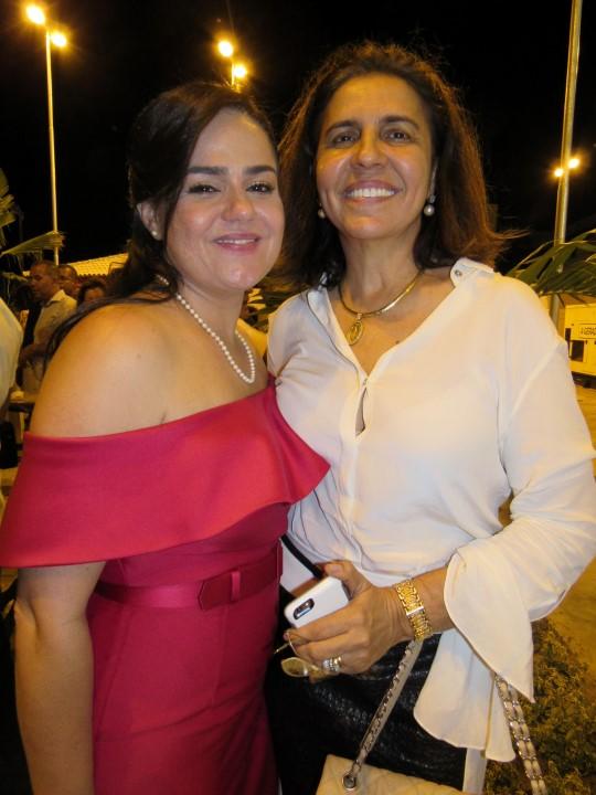 Aline Peixoto e Laura Tanuri