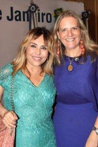 Eliana Ovalle e Maninha Barbosa as mais novas amigas de infância