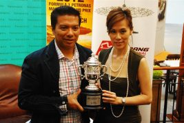 Tiffany & Co Trophies for 2012 Malaysian F1 - 26