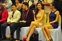 Oris Island Boutique in 1Utama (Old WIng) - 05 (R-L) Raymond Tan, Dennis Lau, current Miss Universe-Malaysia, Carey Ng, and Miss Oris Elegant May Salitah