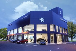 Peugeot Butterworth Showroom
