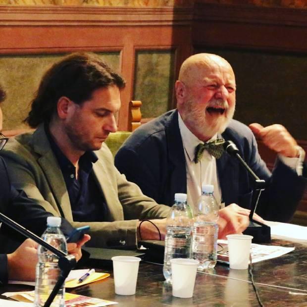 Mauro Aurigi si accalora quando parla della Banca MPS sienahellip