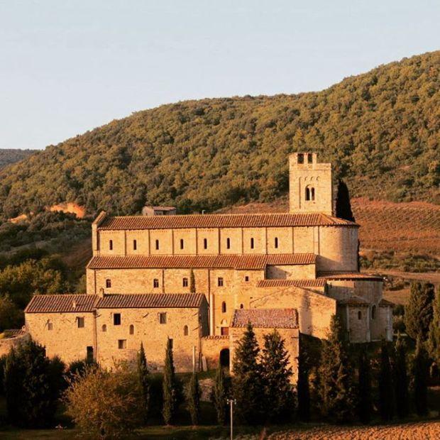 santantimo abbey montalcino tuscany igersiena