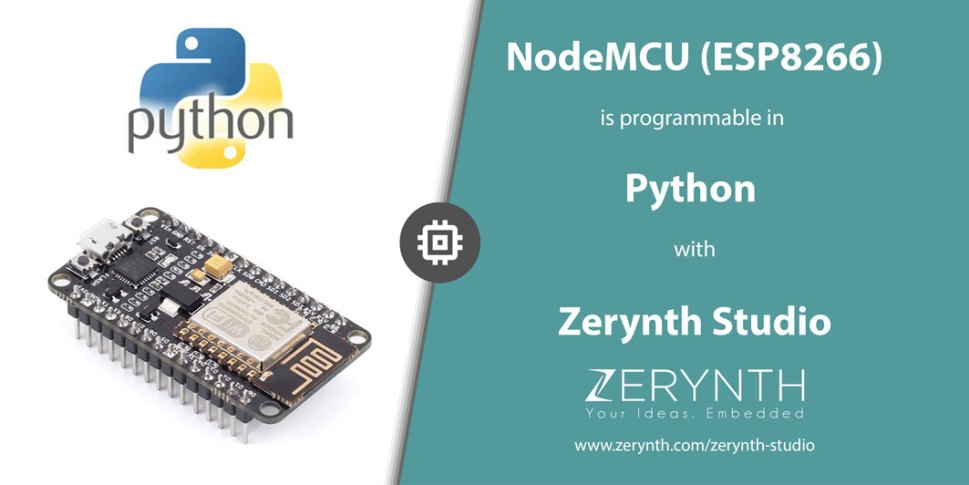 Program NodeMCU in Python with Zerynth