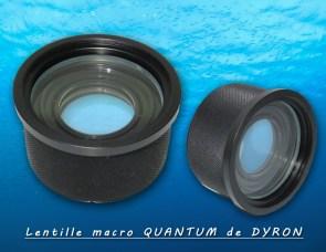Lentille macro QUANTUM de Dyron