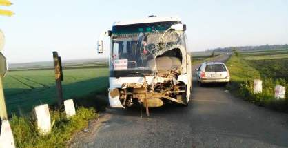 accident autocar TRW