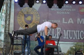Dan Stanescu flotari record