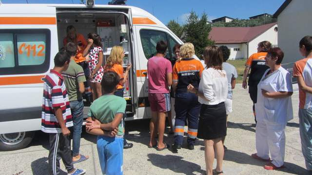 curs resuscitare copii dizabilitati ambulanta DGASPC 3
