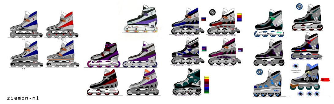 At age 14: Skates