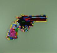 Revolver - lego su tavola, 60x60