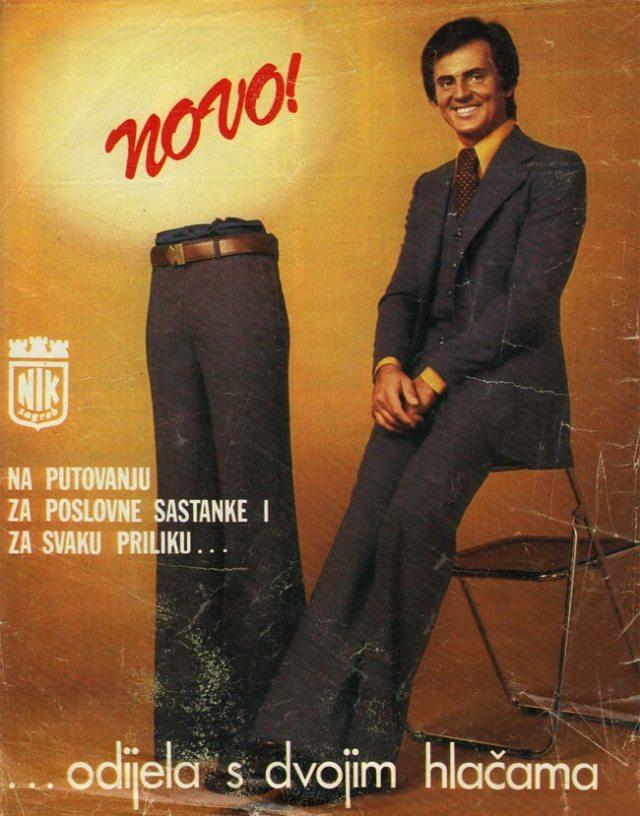 Yugodrom - Novo pants ad