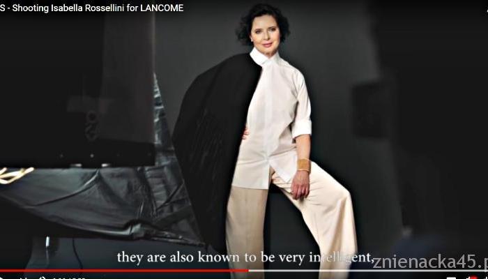 Isabella Rossellini wraca do Lancome w wieku 65 lat
