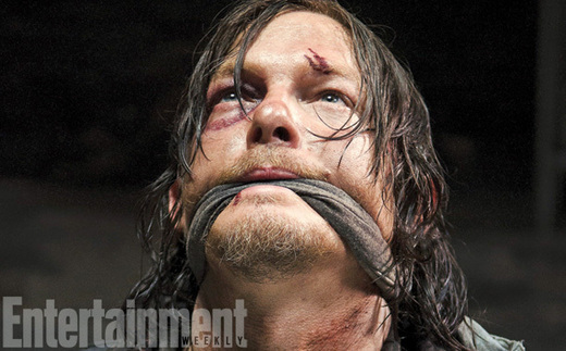 "Looks Like Daryl Dixon Is First To Be ""Lunch"" On 'The Walking Dead'"