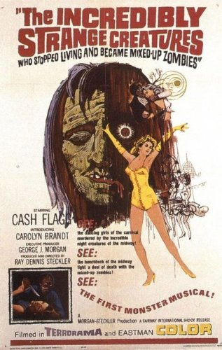 Zombie Movie Posters From Yesteryear & the Present!