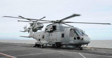 La Royal Navy recibe el último Merlin Mk2 actualizado