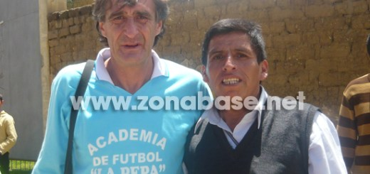 La Pepa Baldessari junto al corresponsal de zonabase en Cutervo