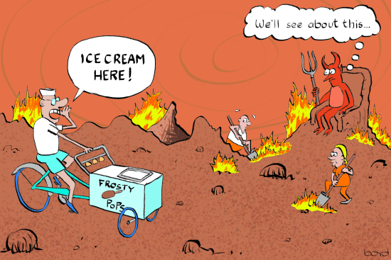 Ice Cream in Hell