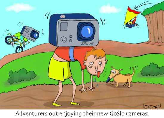 Adventurers and GoSlo cameras