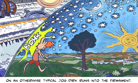 Dirk hits the Firmament