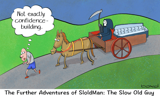 SloldMan: Slow old guy