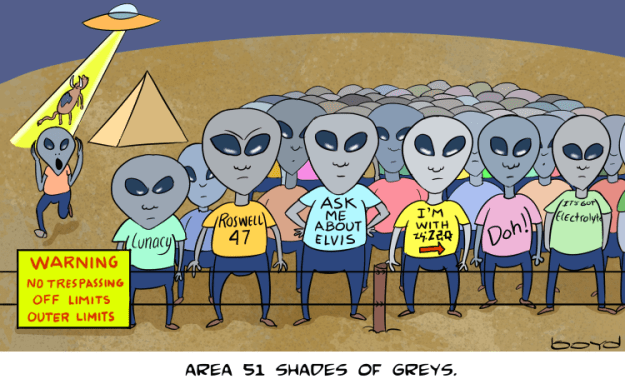 Area 51 Shades of Greys