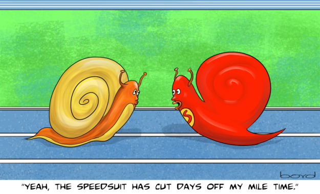 Snail Speed Suit