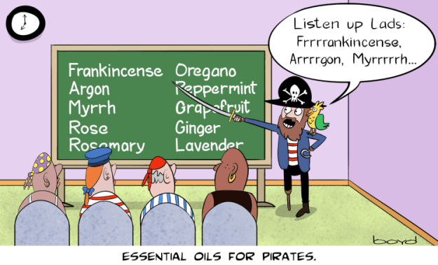 essential oils for pirates