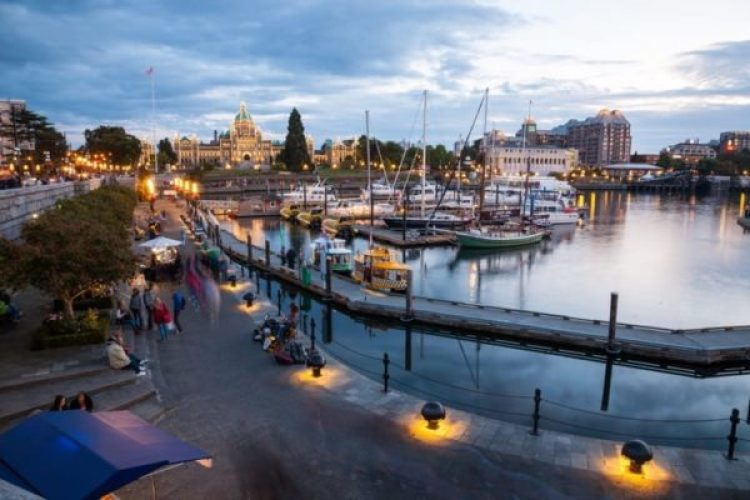 Downtown Victoria BC | Photo by androver / Shutterstock.com