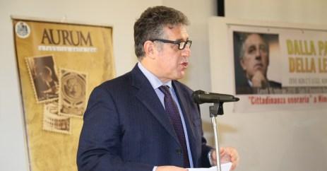 Nino Di Matteo durante il suo discorso