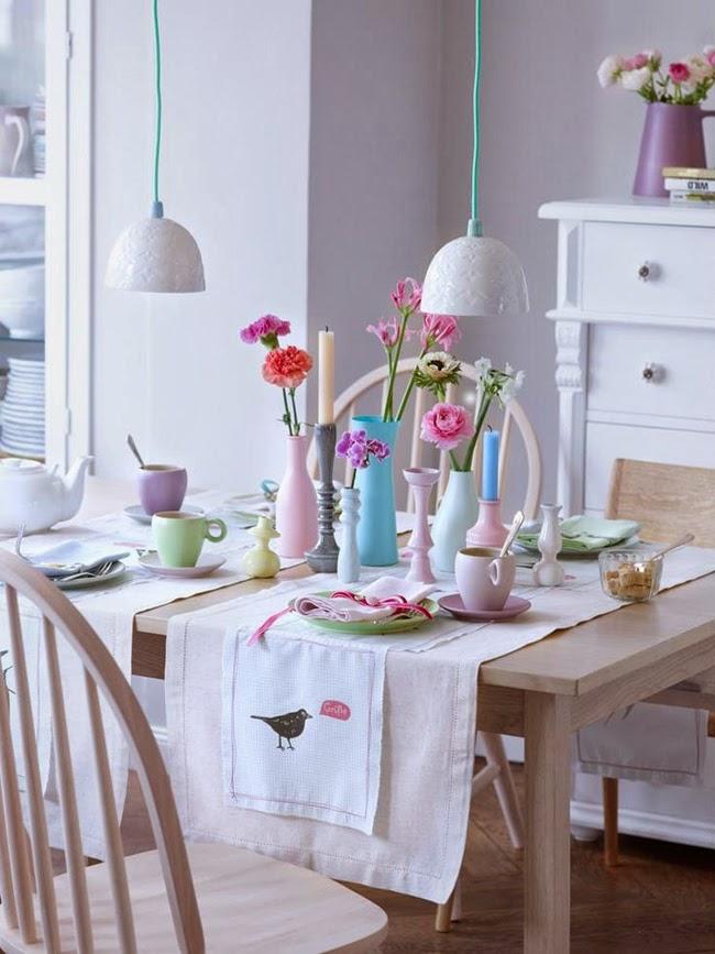 wiosenny stół