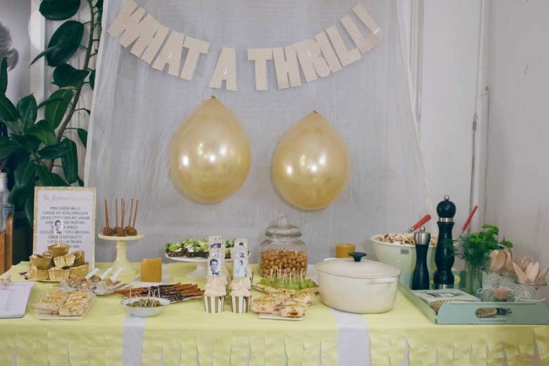 oscar party buffet 2015