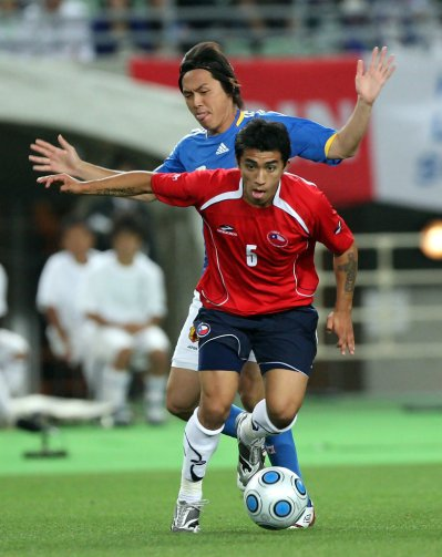Edson Puch in Japan v Chile - International Friendly - Zimbio