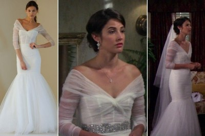 Cobie Smulders's Wedding Gown on 'How I Met Your Mother ...