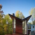 Harkavy Residence Side Facade ©Anice Hoachlander