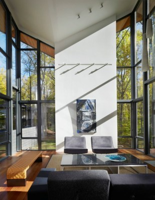 Double Height Living Space ©Anice Hoachlander