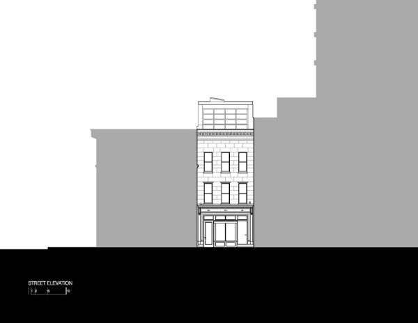After - Town House Street Elevation