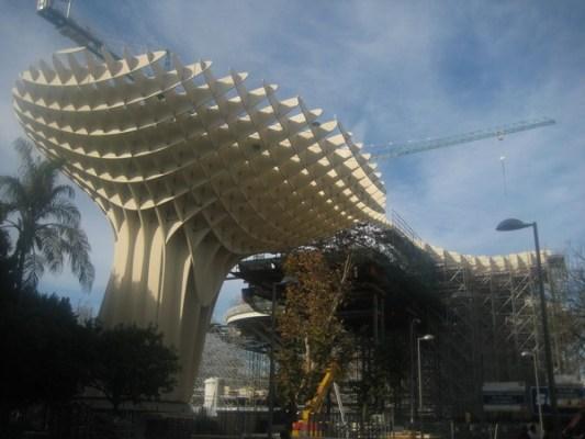 Metropol Parasol Costruction in February, 2011