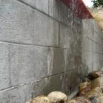 Recirculating rain-water-fed fountain