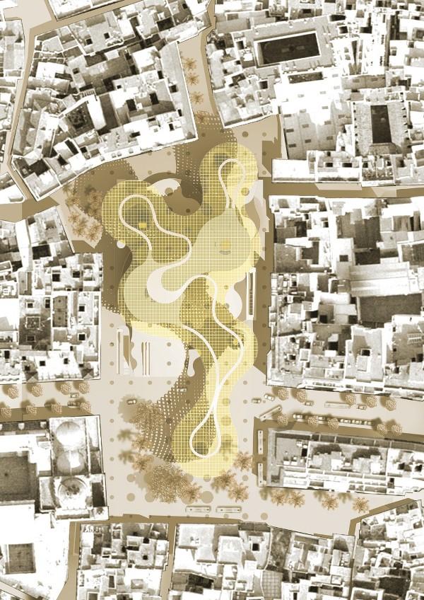 Plaza de la Encarnacion Plan - Top