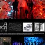 Digital Origami - Molecule - (c) Ian Barnes/ERCO